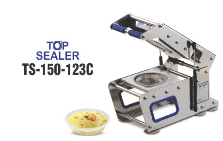 Top sealer for round container