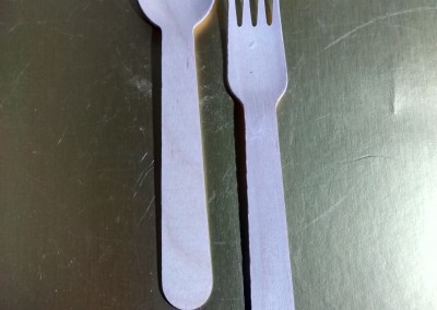 Wooden spoons/fork