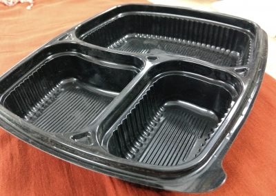 3 Portion Mini Meal Tray